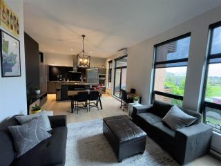 Photo 2: 205 220 SALTER Street in New Westminster: Queensborough Condo for sale : MLS®# R2588294