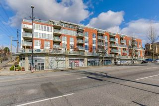 """Photo 1: 404 3811 HASTINGS Street in Burnaby: Vancouver Heights Condo for sale in """"MONDEO"""" (Burnaby North)  : MLS®# R2519776"""