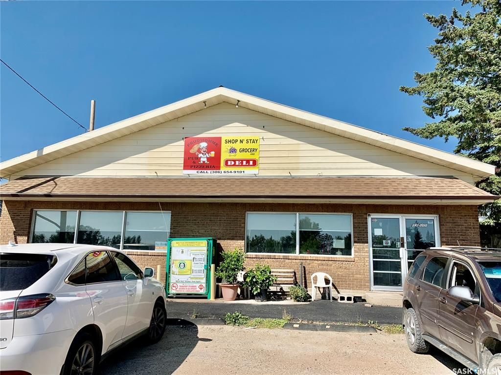 Main Photo: 12 Railway Avenue in Prud'homme: Commercial for sale : MLS®# SK867099