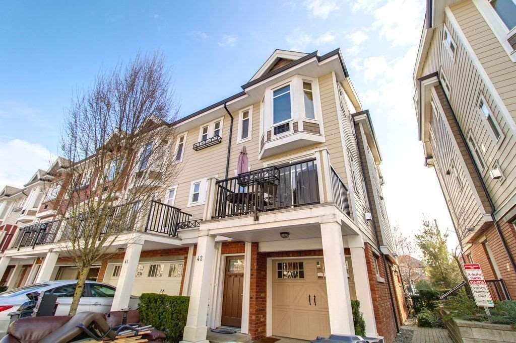 """Main Photo: 42 20738 84 Avenue in Langley: Willoughby Heights Townhouse for sale in """"YORKSON CREEK"""" : MLS®# R2248825"""