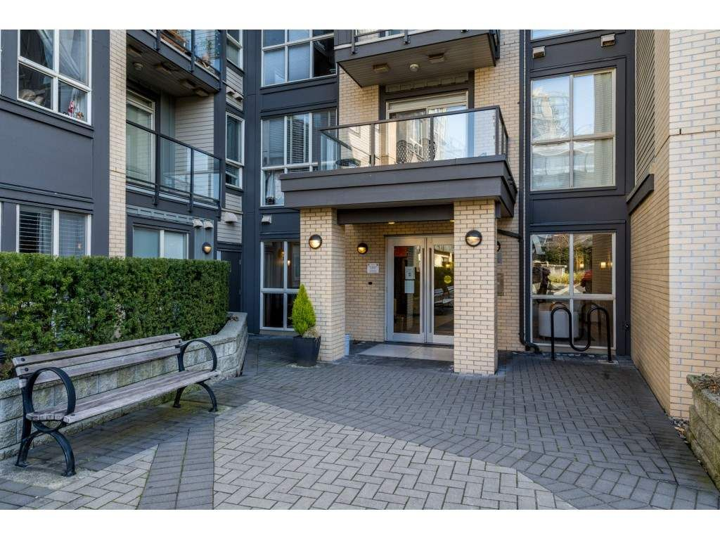 """Main Photo: 211 225 FRANCIS Way in New Westminster: Fraserview NW Condo for sale in """"THE WHITTAKER"""" : MLS®# R2565512"""