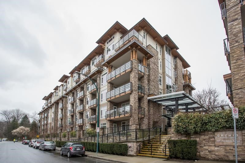 """Main Photo: 518 2495 WILSON Avenue in Port Coquitlam: Central Pt Coquitlam Condo for sale in """"ORCHID RIVERSIDE CONDOS"""" : MLS®# R2585848"""