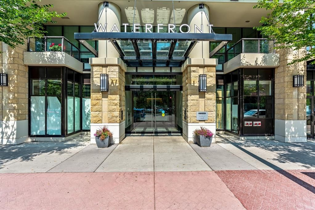 Main Photo: 548 222 Riverfront Avenue SW in Calgary: Chinatown Apartment for sale : MLS®# A1140410