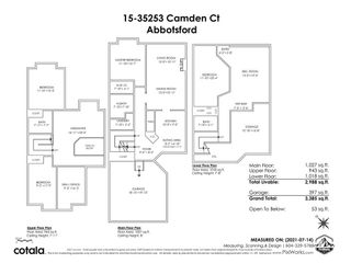 """Photo 40: 15 35253 CAMDEN Court in Abbotsford: Abbotsford East Townhouse for sale in """"Camden Court"""" : MLS®# R2600952"""