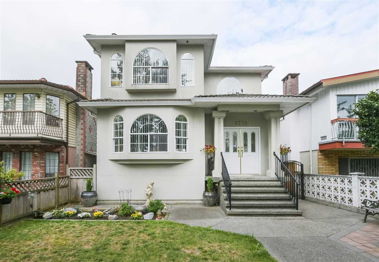 Main Photo: 2731 NANAIMO Street in Vancouver: Grandview Woodland House for sale (Vancouver East)  : MLS®# R2396523