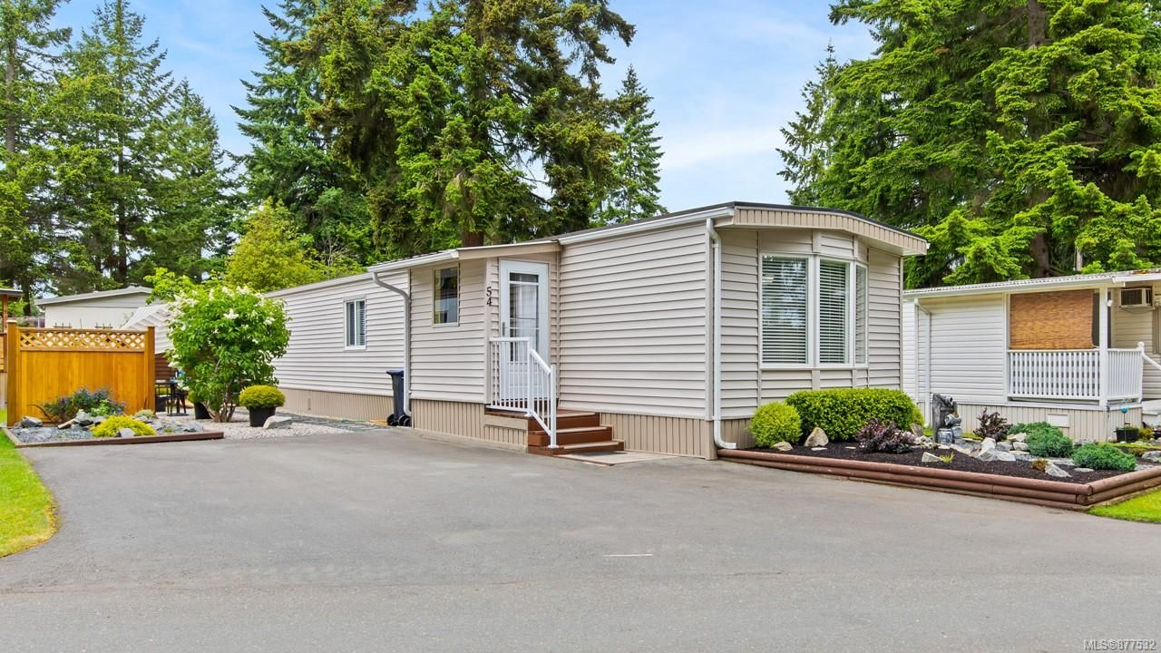 Main Photo: 54 1247 Arbutus Rd in : PQ Parksville Manufactured Home for sale (Parksville/Qualicum)  : MLS®# 877532