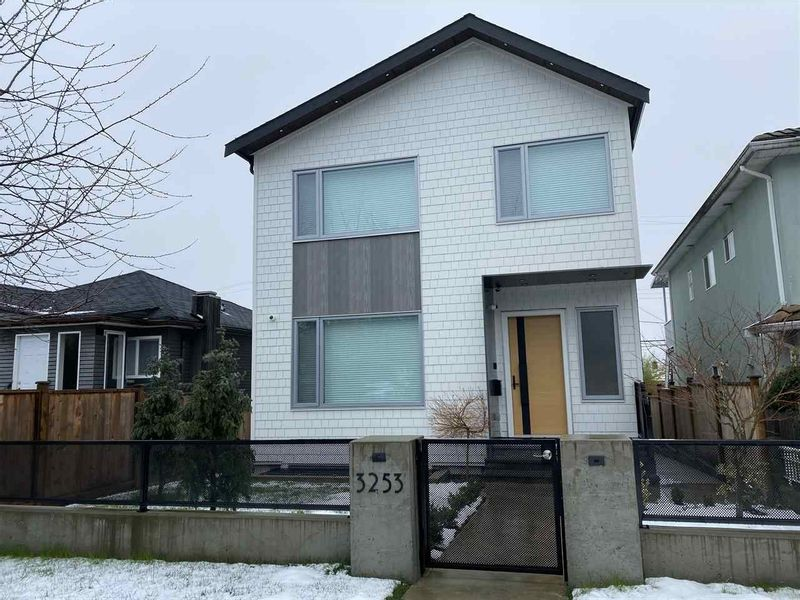 FEATURED LISTING: 3253 22ND Avenue East Vancouver