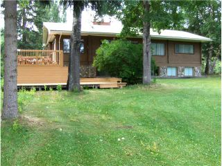 """Photo 1: 2598 NORWOOD Road in Quesnel: Bouchie Lake House for sale in """"BOUCHIE LAKE"""" (Quesnel (Zone 28))  : MLS®# N209222"""