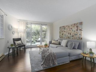 """Photo 1: 115 2033 TRIUMPH Street in Vancouver: Hastings Condo for sale in """"MACKENZIE HOUSE"""" (Vancouver East)  : MLS®# R2370575"""