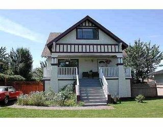 Main Photo: 5471 WALES Street in Vancouver: Collingwood VE House for sale (Vancouver East)  : MLS®# V691307