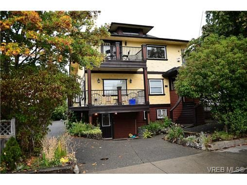 Main Photo: 2 436 Niagara St in VICTORIA: Vi James Bay Row/Townhouse for sale (Victoria)  : MLS®# 724550