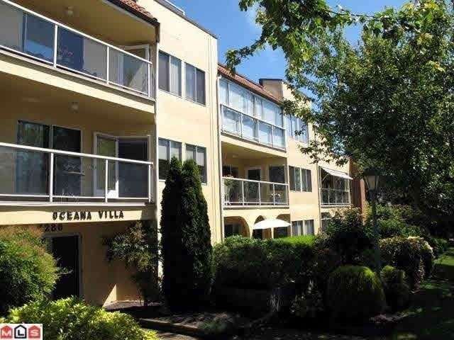 "Main Photo: 311 1280 FIR Street: White Rock Condo for sale in ""Oceana Villa"" (South Surrey White Rock)  : MLS®# F1444175"