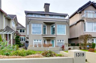 Photo 2: 1319 CHESTNUT Street in Vancouver: Kitsilano 1/2 Duplex for sale (Vancouver West)  : MLS®# R2541897
