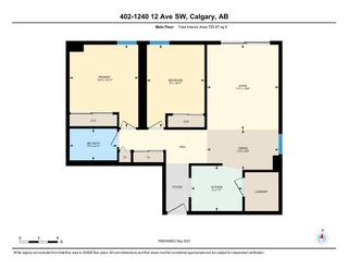Photo 23: 402 1240 12 Avenue SW in Calgary: Beltline Apartment for sale : MLS®# A1103807