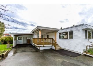 """Photo 1: 35 201 CAYER Street in Coquitlam: Maillardville Manufactured Home for sale in """"WILDWOOD PARK"""" : MLS®# R2042526"""