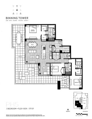"""Photo 20: 2605 3355 BINNING Road in Vancouver: University VW Condo for sale in """"Binning Tower"""" (Vancouver West)  : MLS®# R2139551"""