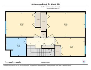 Photo 41: 40 LACOMBE Point: St. Albert Townhouse for sale : MLS®# E4257210