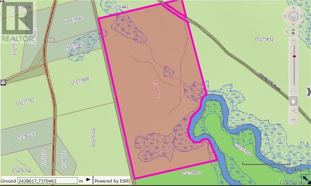 Main Photo: - Yourette Road in Dewolfe: Vacant Land for sale : MLS®# NB062662