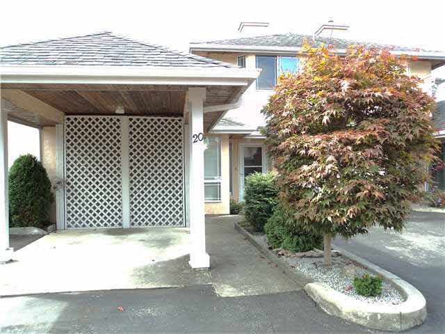 """Main Photo: 20 11950 LAITY Street in Maple Ridge: West Central Townhouse for sale in """"THE MAPLES"""" : MLS®# V1137328"""