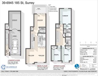 Photo 1: 39 6945 185 STREET in Surrey: Cloverdale BC Townhouse for sale (Cloverdale)  : MLS®# R2473318