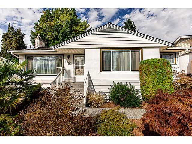 "Main Photo: 1063 SEVENTH Avenue in New Westminster: Moody Park House for sale in ""MOODY PARK"" : MLS®# V1090839"