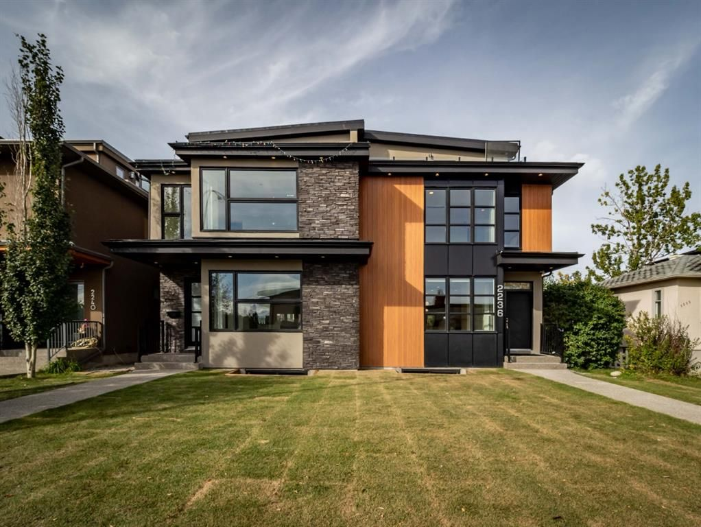 Main Photo: 2236 1 Avenue NW in Calgary: West Hillhurst Semi Detached for sale : MLS®# A1148972