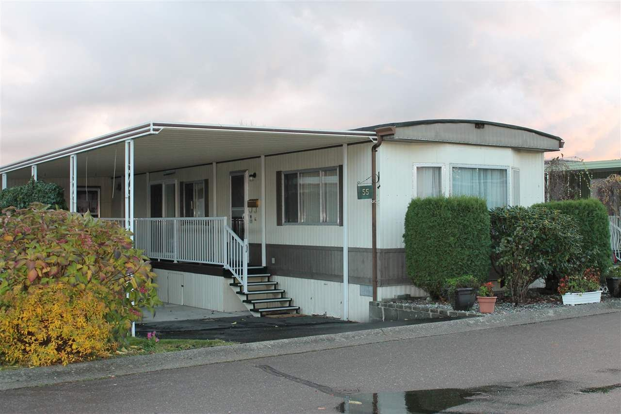 """Main Photo: 55 2120 KING GEORGE Boulevard in Surrey: King George Corridor Manufactured Home for sale in """"Five Oaks"""" (South Surrey White Rock)  : MLS®# R2015484"""