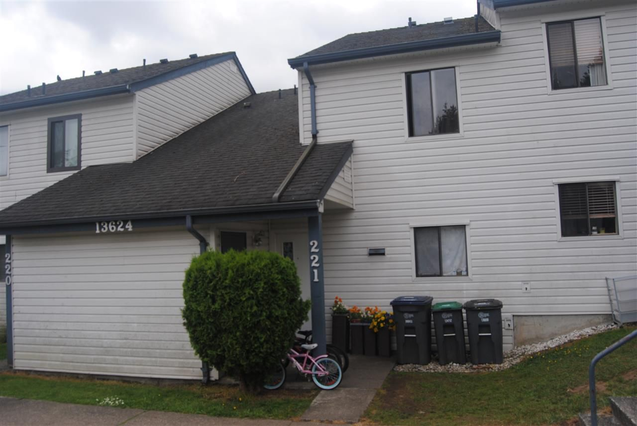 """Main Photo: 221 13624 67 Avenue in Surrey: East Newton Townhouse for sale in """"Hyland Creek"""" : MLS®# R2074977"""