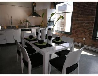 "Photo 5: 415 55 E CORDOVA Street in Vancouver: Downtown VE Condo for sale in ""KORET LOFTS"" (Vancouver East)  : MLS®# V723133"