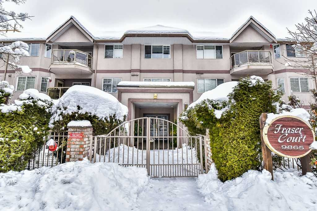 """Main Photo: 106 9865 140 Street in Surrey: Whalley Condo for sale in """"Fraser Court"""" (North Surrey)  : MLS®# R2137812"""