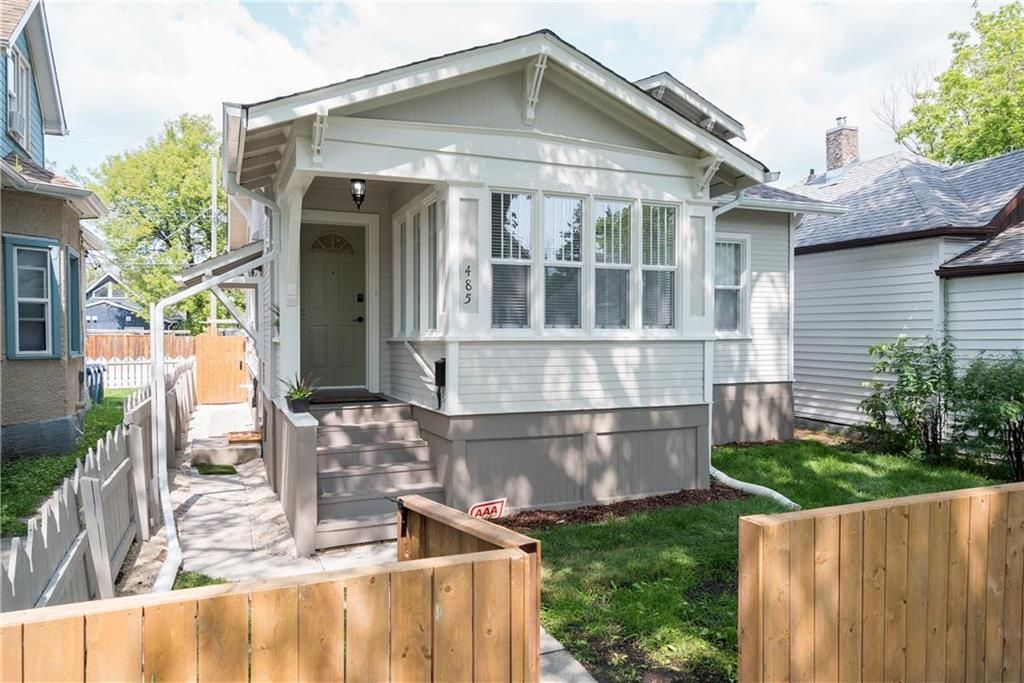 Main Photo: 485 Redwood Avenue in Winnipeg: North End Residential for sale (4A)  : MLS®# 202105222