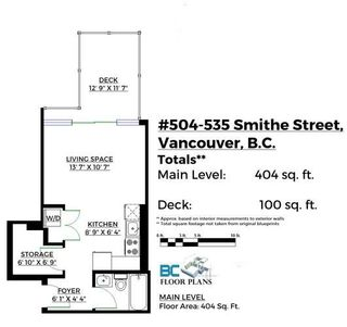 """Photo 20: 504 535 SMITHE Street in Vancouver: Downtown VW Condo for sale in """"THE DOLCE"""" (Vancouver West)  : MLS®# R2116050"""
