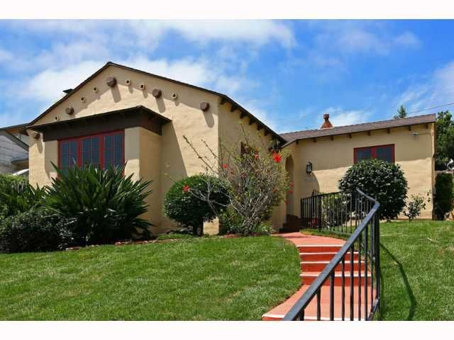 Main Photo: MISSION HILLS House for sale : 4 bedrooms : 4188 ARDEN WAY in San Diego
