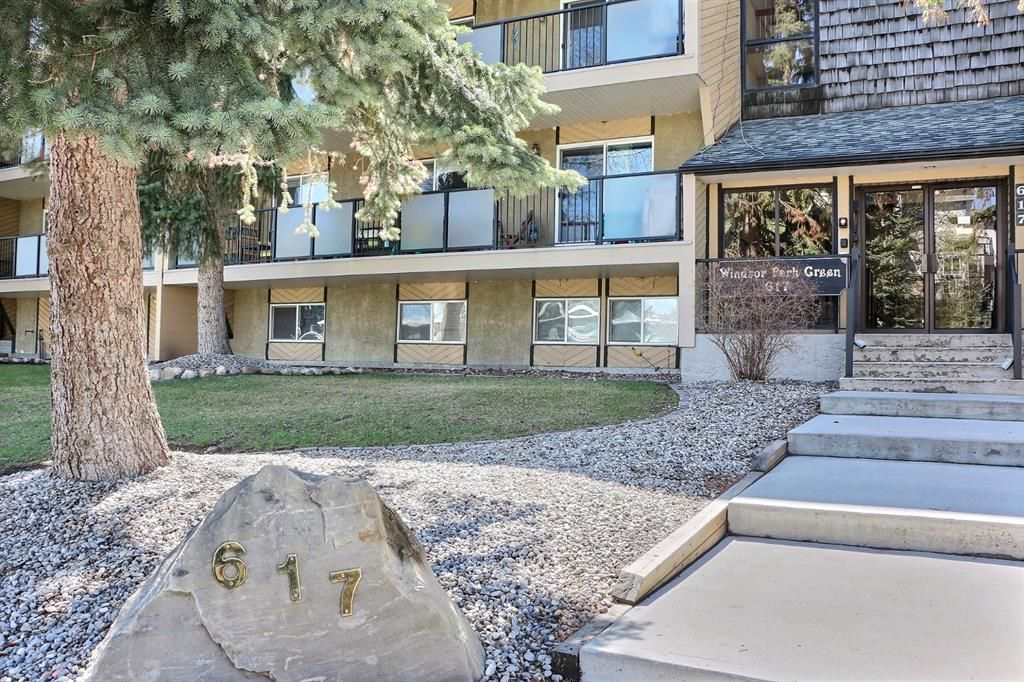 Main Photo: 103 617 56 Avenue SW in Calgary: Windsor Park Apartment for sale : MLS®# A1105822