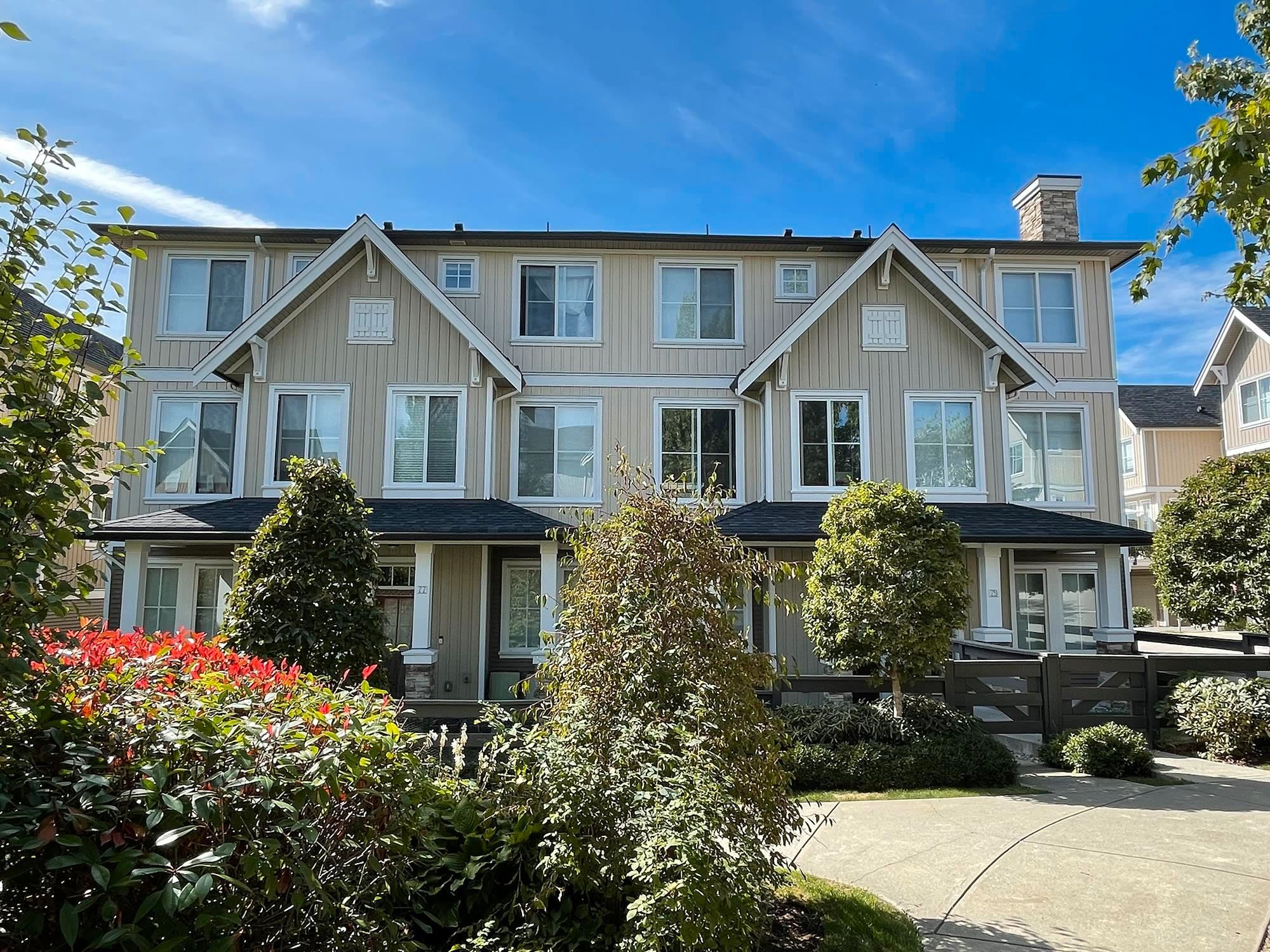 """Main Photo: 78 31032 WESTRIDGE Place in Abbotsford: Abbotsford West Townhouse for sale in """"Harvest"""" : MLS®# R2614683"""