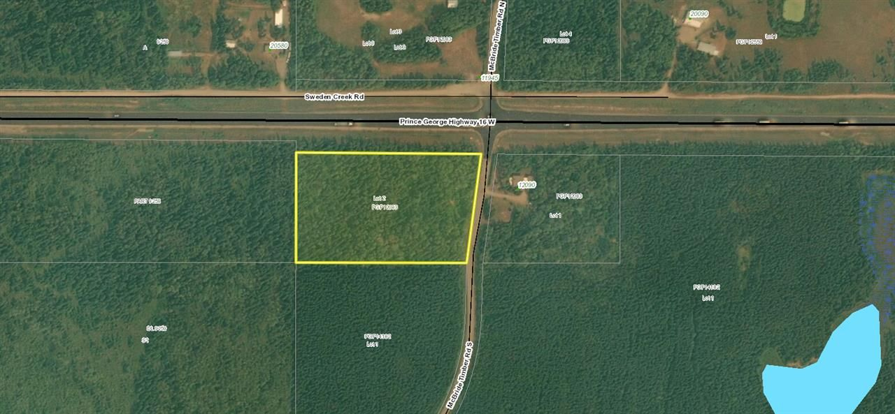 Main Photo: LOT 2 S MCBRIDE TIMBER Road in Prince George: Upper Mud Land for sale (PG Rural West (Zone 77))  : MLS®# R2543587