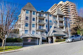 """Photo 1: 209 1035 AUCKLAND Street in New Westminster: Uptown NW Condo for sale in """"QUEEN'S TERRACE"""" : MLS®# R2438580"""