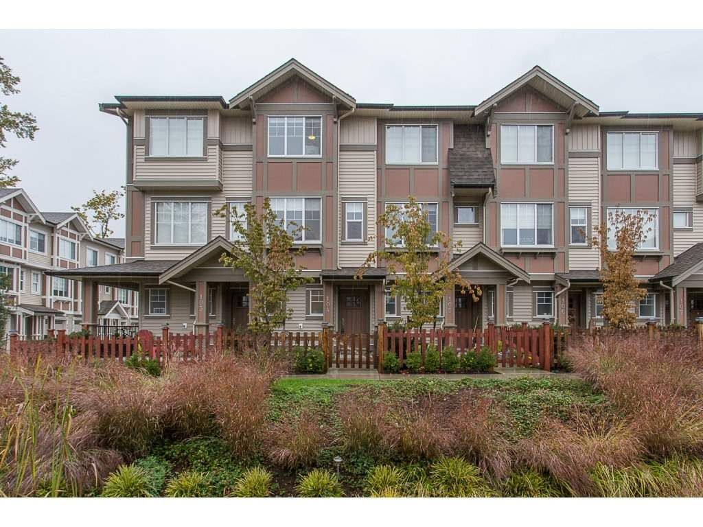 """Main Photo: 104 10151 240 Street in Maple Ridge: Albion Townhouse for sale in """"ALBION STATION"""" : MLS®# R2215867"""
