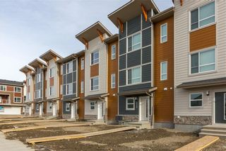 Main Photo: 268 Harvest Hills Way NE in Calgary: Harvest Hills Row/Townhouse for sale : MLS®# A1069741