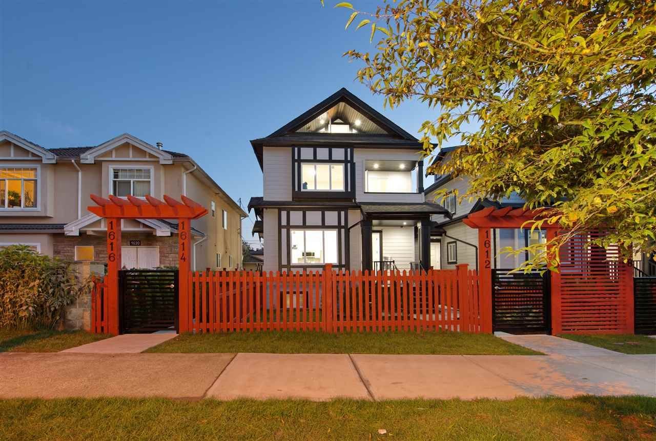 Main Photo: 1612 E 36 Avenue in Vancouver: Knight 1/2 Duplex for sale (Vancouver East)  : MLS®# R2507428