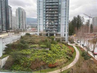 "Photo 1: 604 1148 HEFFLEY Crescent in Coquitlam: North Coquitlam Condo for sale in ""the centra"" : MLS®# R2559745"