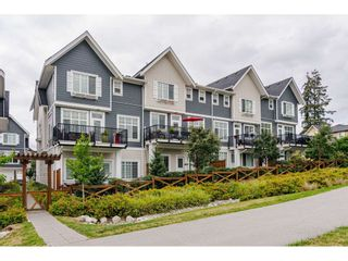 "Photo 1: 16 19938 70 Avenue in Langley: Willoughby Heights Townhouse for sale in ""CREST"" : MLS®# R2493488"