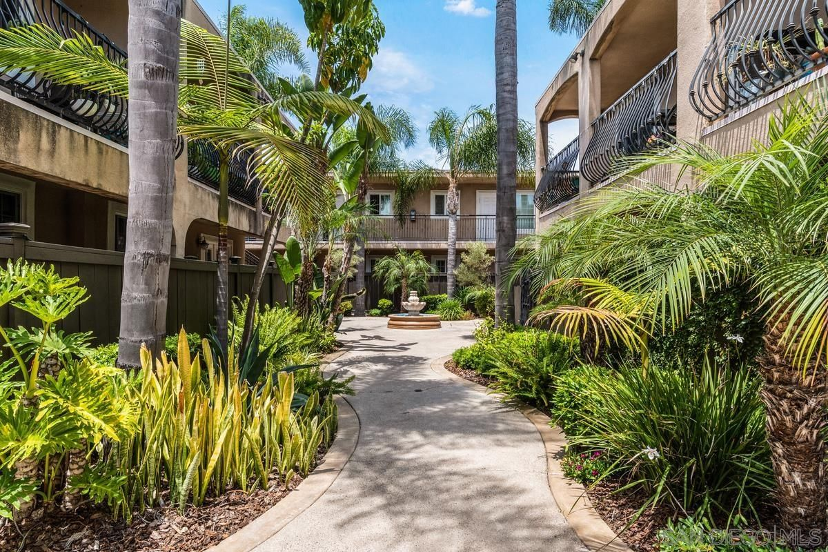 Main Photo: UNIVERSITY HEIGHTS Condo for sale : 1 bedrooms : 4655 Ohio St #10 in San Diego