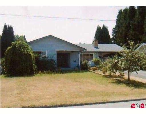 Main Photo: 33418 HOLLAND Avenue in Abbotsford: Central Abbotsford House for sale : MLS®# F2919676