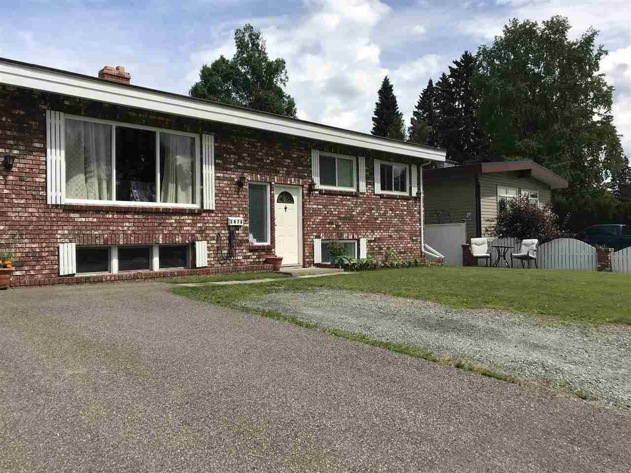 Main Photo: 2878 PINEWOOD Avenue in Prince George: Westwood House for sale (PG City West (Zone 71))  : MLS®# R2382366