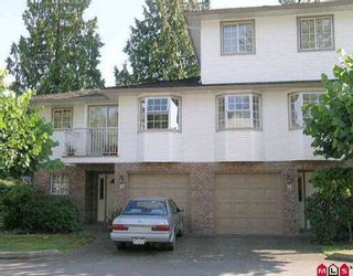 """Photo 1: 14 10045 154TH ST in Surrey: Guildford Townhouse for sale in """"HEATHERTON"""" (North Surrey)  : MLS®# F2518689"""
