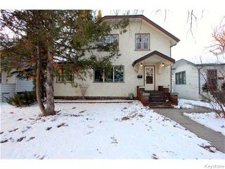 Photo 1: 19 Kingston Row in WINNIPEG: St Vital Residential for sale (South East Winnipeg)  : MLS®# 1531188