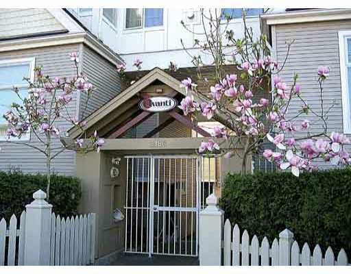 """Main Photo: 1 3160 W 4TH Avenue in Vancouver: Kitsilano Townhouse for sale in """"AVANTI"""" (Vancouver West)  : MLS®# V773009"""
