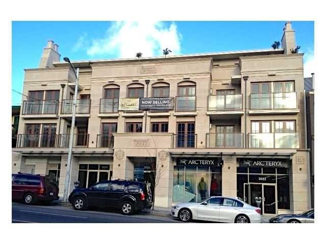 Main Photo: # 301 2035 W 4TH AV in Vancouver: Kitsilano Condo for sale (Vancouver West)  : MLS®# V1040880