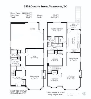 Photo 15: 3538 ONTARIO Street in Vancouver: Main House for sale (Vancouver East)  : MLS®# R2558064